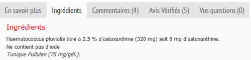 phyto-one astaxanthine