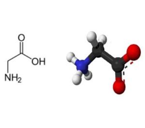 glycine molécule