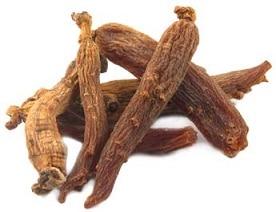 Ginseng rouge : Le plus puissant grâce à sa teneur élevée en ginsénosides