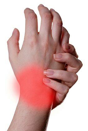 Douleur au poignet