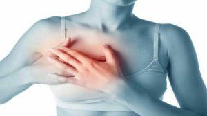 Signes des douleurs mammaires :  crampes,