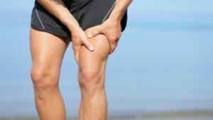 Manifestations de la faiblesse musculaire:  crampes, raideurs,
