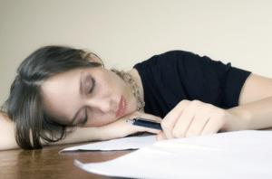 Manifestations de la fatigue:  besoin de sommeil,