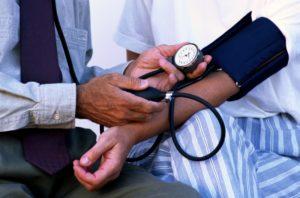 Hypertension artérielle :