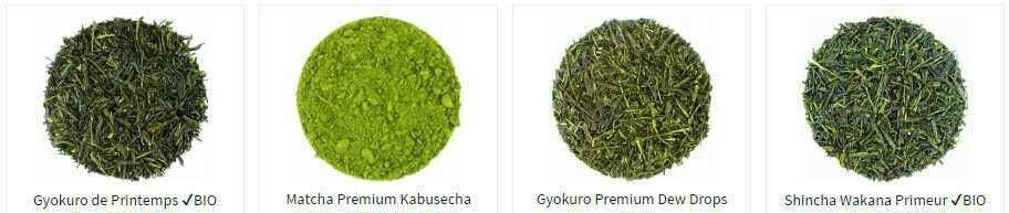 Les variétés de thé vert sur le marché sont innombrables qu'il faut bien faire son choix