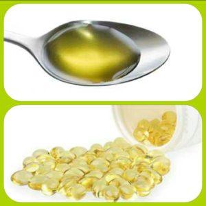 L'huile de foie de morue en capsule est plus facile à avaler