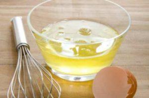 Le blanc d'œuf, l'une des meilleures sources de méthionine