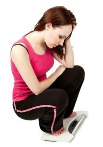 Manifestations de la perte de poids : faiblesse, malaise, fatigue, perte de connaissance, ...