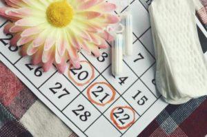 Menstruations irrégulières, troubles dus dans la plupart des cas à un retard ou une absence d'ovulation