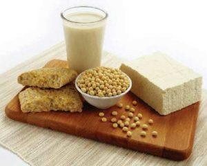 Les produits à base de soja sont les meilleures sources d'isoleucine
