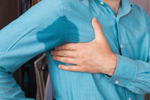 Symptômes de la transpiration : généralisée ou localisée, plus ou moins importante, avec ou sans odeur, ...