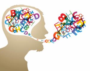 Dysarthrie, difficulté à articuler les mots due essentiellement à des lésions du système nerveux central