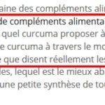 Pourquoi Julien Venesson a tout faux sur le curcuma