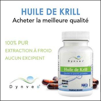 Huile de krill Dynveo