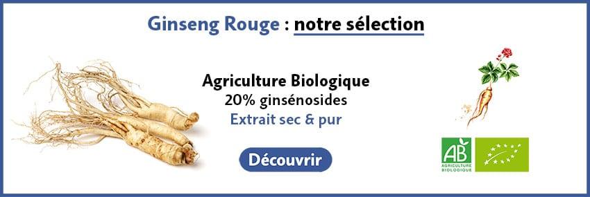 Ginseng rouge bio guide