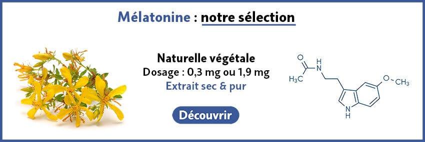 Mélatonine naturelle végétale guide